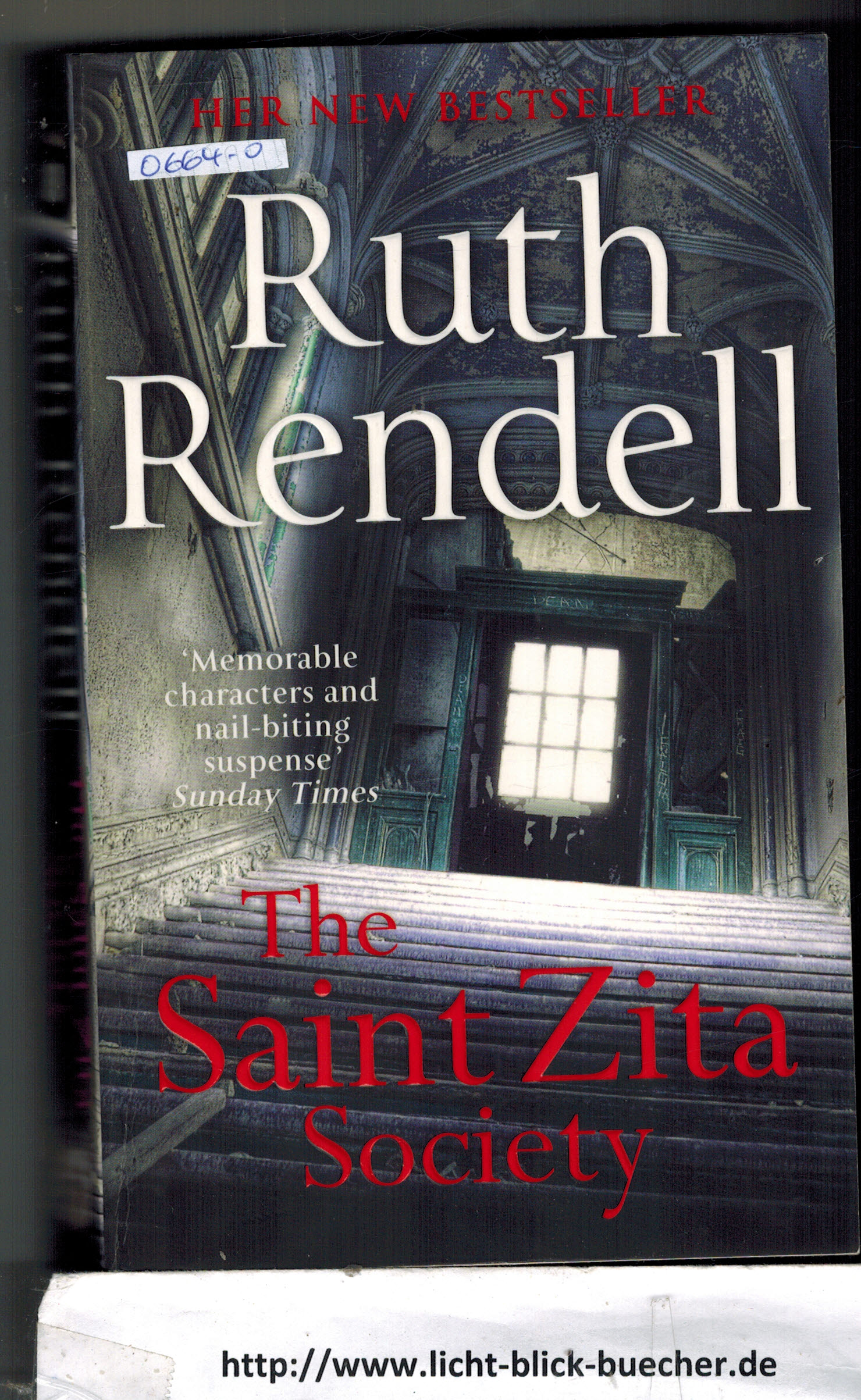 The Saint Zita Society  Ruth Rendell