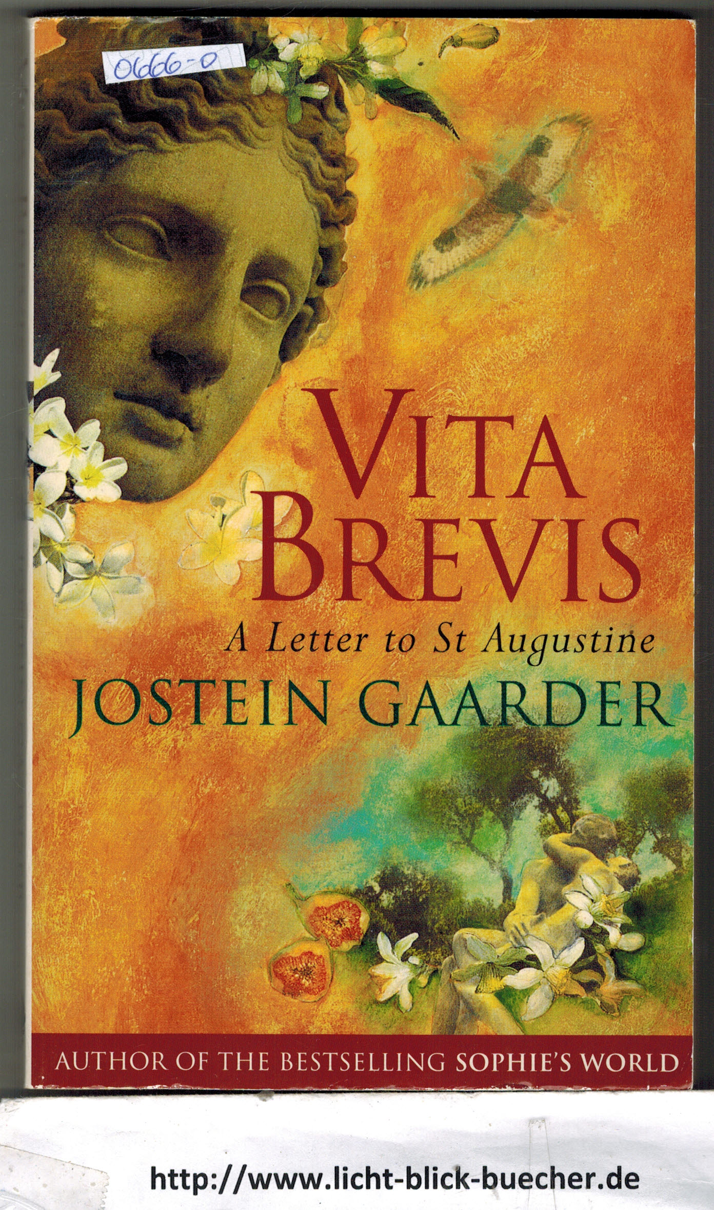 A letter to St. Augustine Vita Brevis