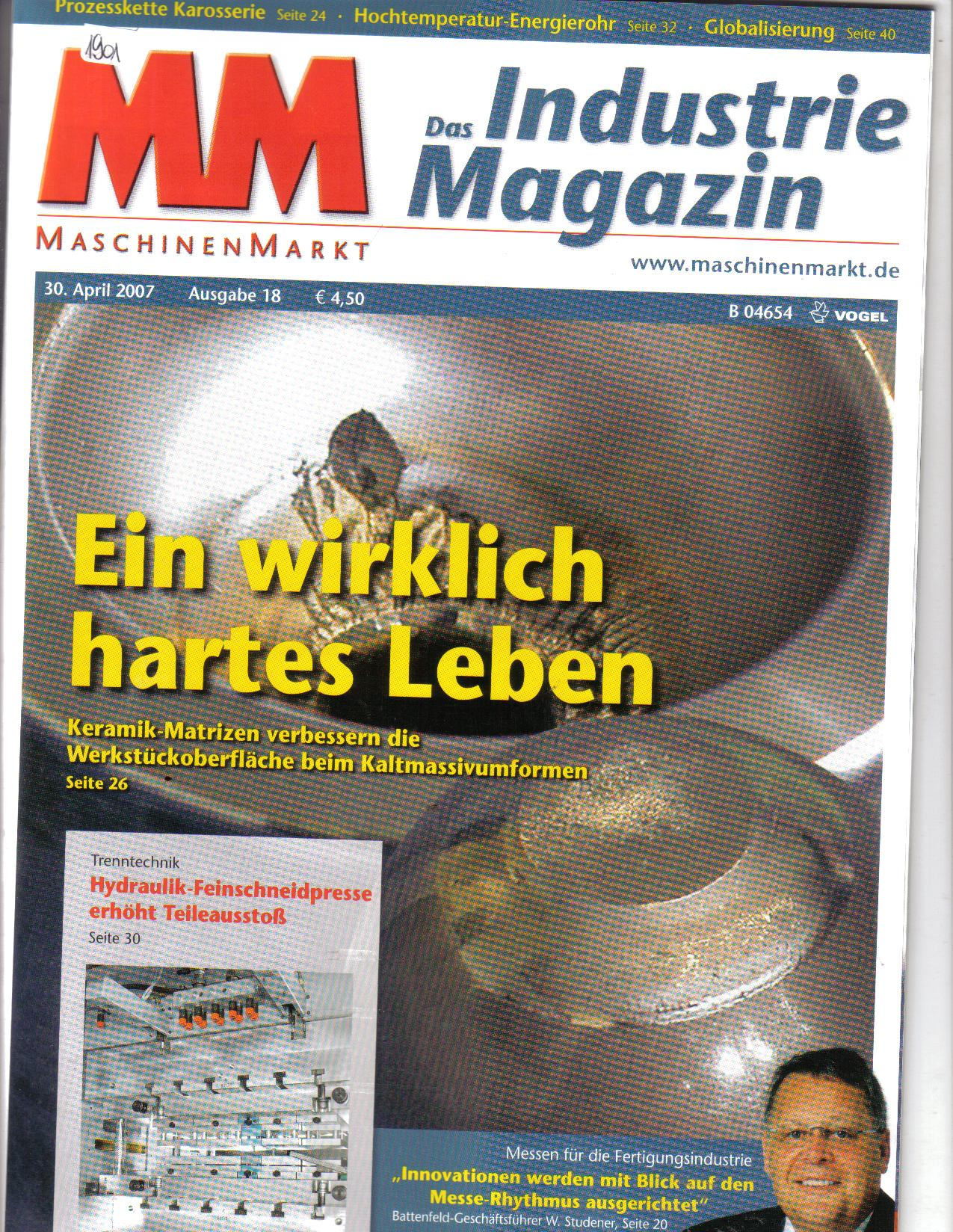 MM das Industrie MagazinApr 07