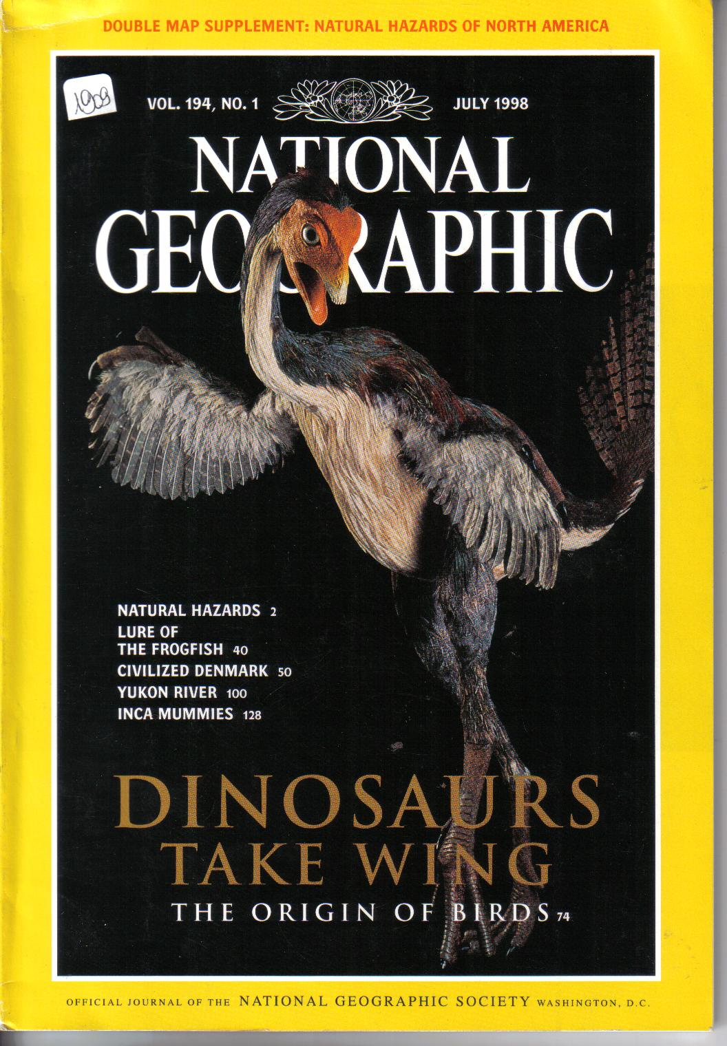 National Geographic ( englisch )July 1998