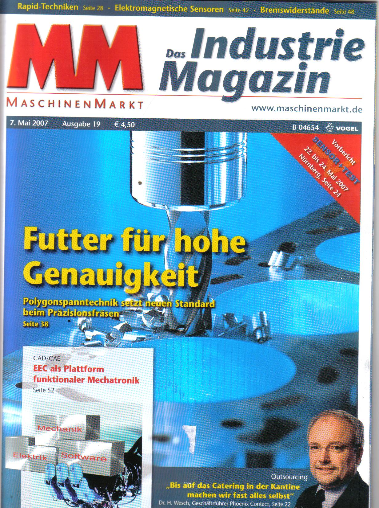 MM Das Industrie MagazinMai 07