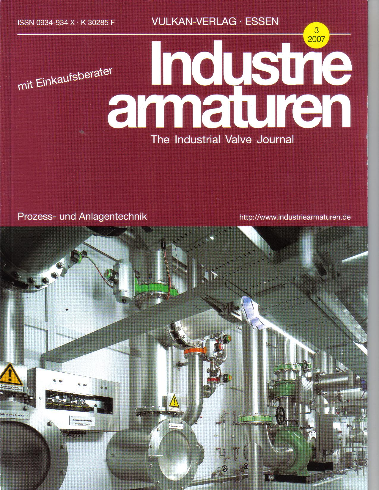 Industrie armaturen   3/2007