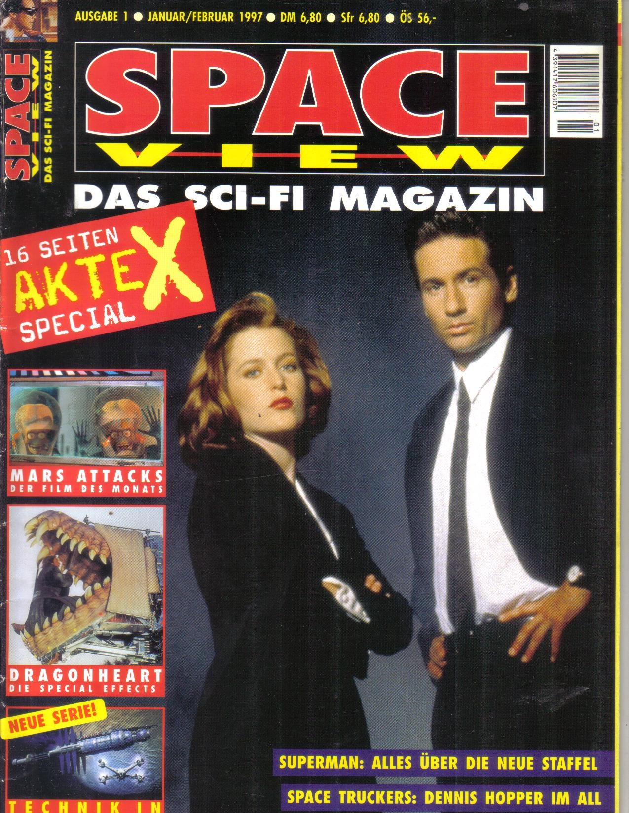 Space View Das Sci-FI Magazin1997