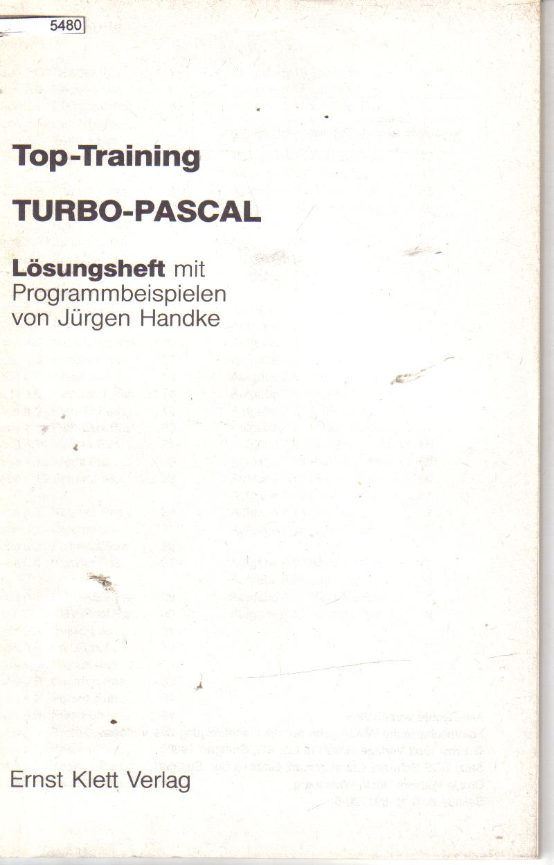Top Training Turbo-Pascal