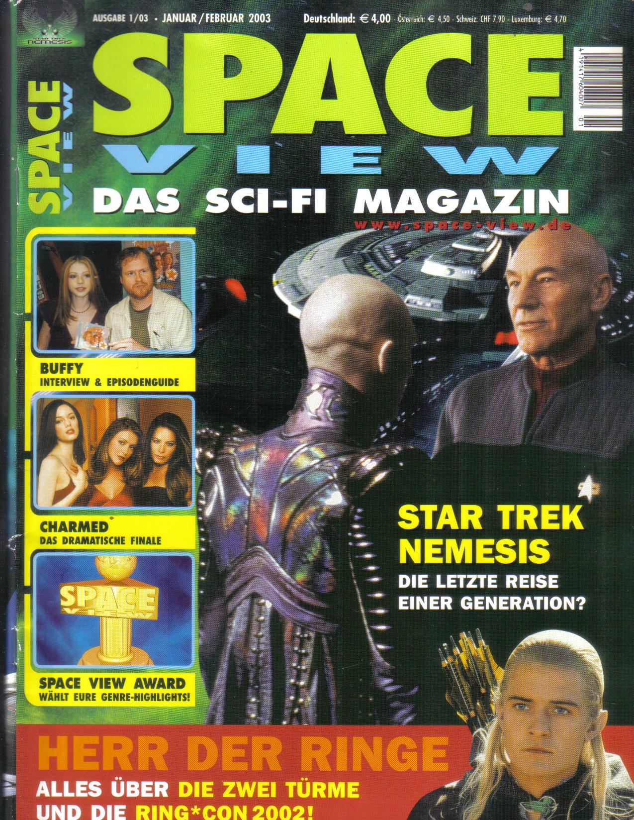 Space View  Das Sci-FI Magazin...2003
