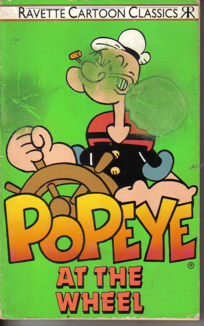 Popeye at the wheel