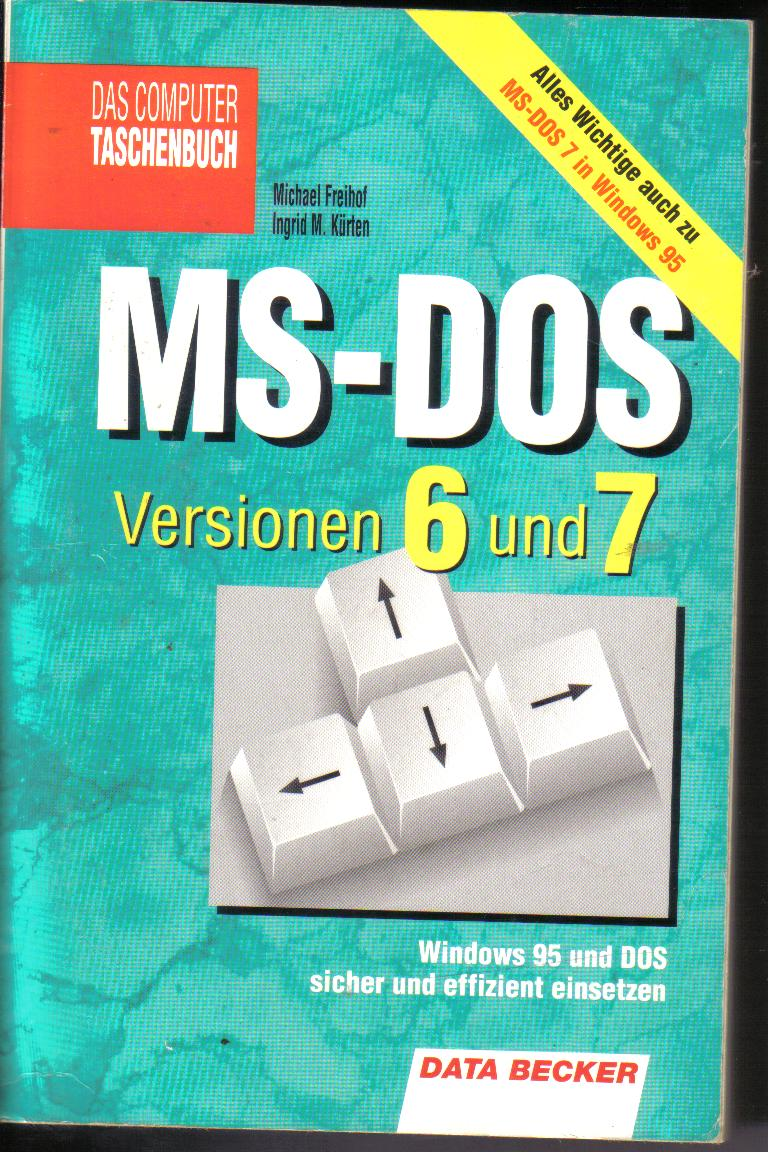 MS-DOS Versionen 6 und 7Data Becker