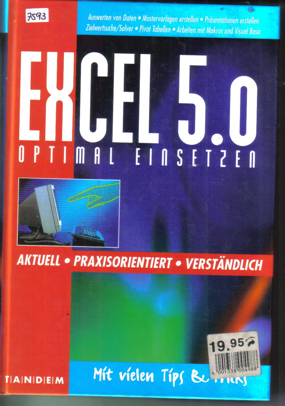 Excel 5.0optimal einsetzen