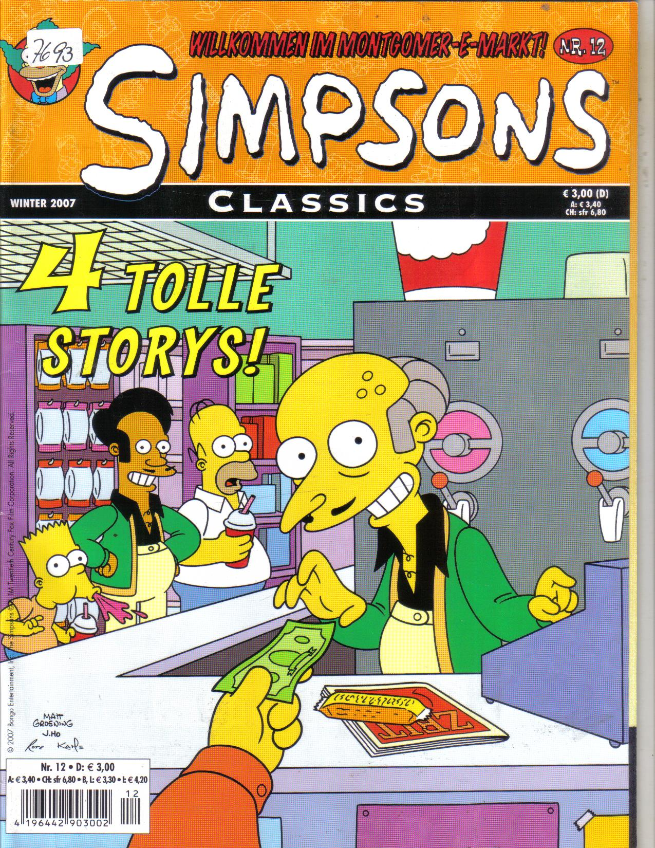 SIMPSONS Nr 12 / Winter 2007