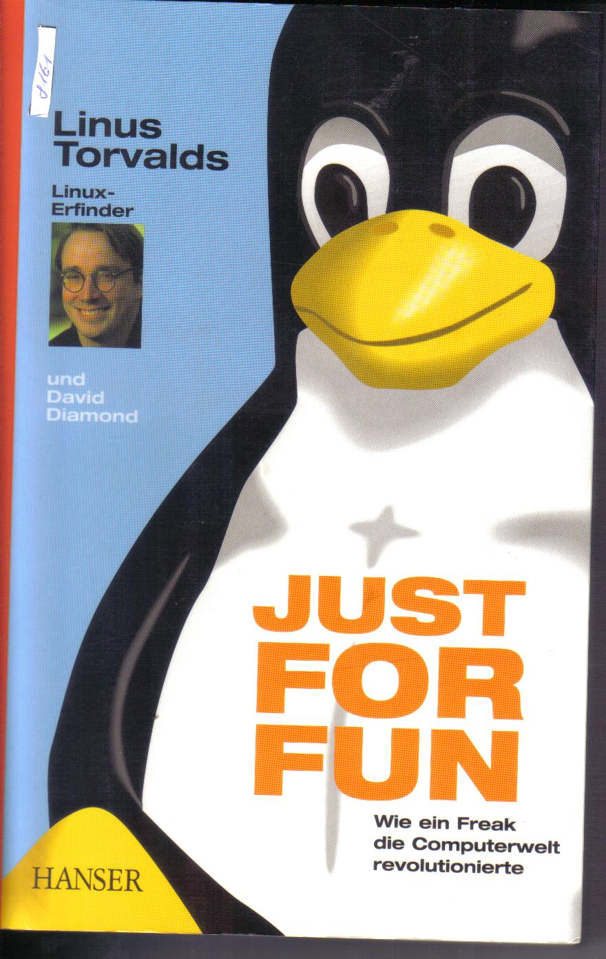 JUST FOR FUNLinus Torvalds